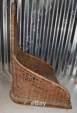 Curtiss Jenny JN6H1 Rudder with Fabric Wicker Seat & Cockpit Cowling WW1 Aircraft