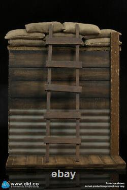 DID WWI BRITISH TRENCH DIORAMA SET A E60061 1/6 Action Figure Toys
