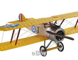 Desk Top WWI Sopwith Camel Biplane Wood Model Plane 10 Airplane New