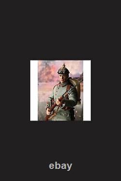 Did action figure ww1 german max muller 1/6 12'' boxed dragon cyber hot toy