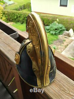 Dragonerhelm Kürassier Helm Offizier Muster 1850 K. U. K. Österreich 1WK WW1