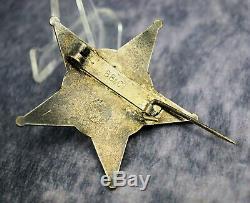 Enamel iron cross pin medal badge WW1 German Gallipoli star WWII Ottoman Empire