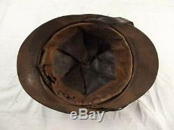 Extremely Rare WW1 Imperial Russian Adrian Helmet