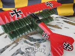 Fokker DR 1 Manfred von Richthofen WW1 118 Woodmodel / Aircraft / YAKAiR