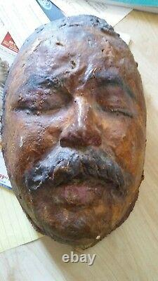 Francisco Pancho Villa Death Mask WWI 1923 Mexican Revolution Old West