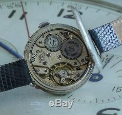 Full Hunter Rolex Marconi WW1 Trench Watch Bearing King George V Engraving