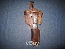 German Ww1 Mauser C96 Broomhandle Pistol Holster Stock Harness