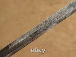 German Bavarian Civil Service Sword In Treue Fest WW1
