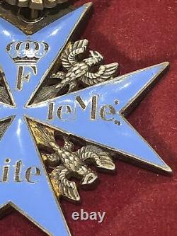 German Emperial WWI Order Of Pour Le Merit With Oak Leaf Awarded Between 1916/18