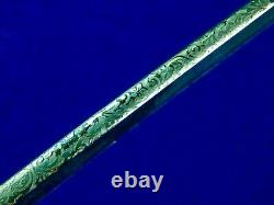 German Germany Antique WW1 Cuirassier Regiment Officer's Sword with Scabbard