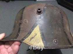 German Helmet Ww1 Camouflage M16