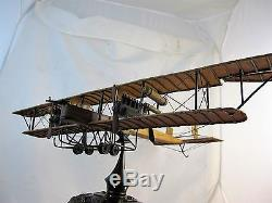 German Model Aircraft Mounted On Ww1 Pickelhaube Made By Recouping Army Medic