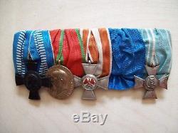 German WW1 Bavarian Doctors Medal Bar
