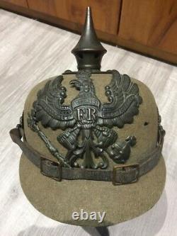 German WW1 Pattern 1895 Ersatz (Felt) Pickelhaube Original & Scarce