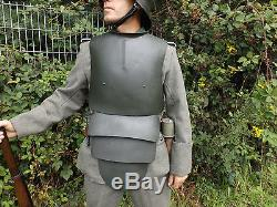German WW1 imperial army breast shield trench guard stormtroops Kaiserreich