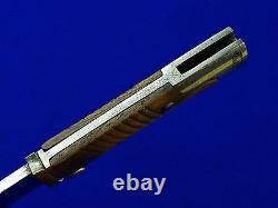 German WW1 m 1898/02 Mauser Saw Back Dress Bayonet Dagger Knife Scabbard Frog