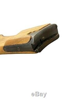 German WWI Navy Luger P08 Wood Stock with Attaching Iron