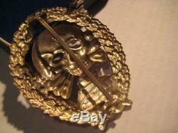 German WWI WW II tank fight medal 1914-1945 award original award in case rare
