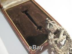 German WWI air force pilot recall award badge from Juncker original antqiue rare