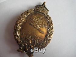 German WWI navy pilot medal from Hugo Schaper in antique case rare antique award