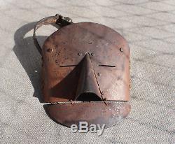 German mask of the Panzerfahrer ww1 helmet casque helm 1 wk