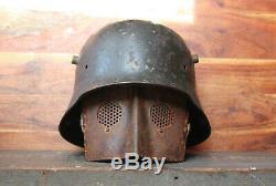 Gesichtsschutz MG 08/15 German Machine Guns ww1 helm helmet casque