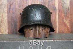 Grabenpanzer Gesichtsschutz MG 08/15 German Machine Guns ww1 helm helmet casque