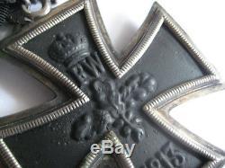Grand cross of knight cross iron cross medal WWI oak leave 800 21 marker