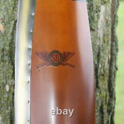 Handmade Solid Wood WWI Wooden Propeller Wall Decor