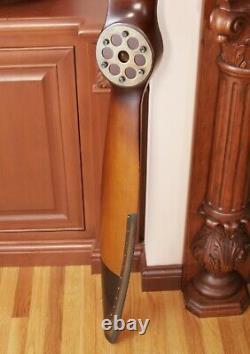 Handmade Vintage Solid Wood WWI Wooden Propeller Home Decor