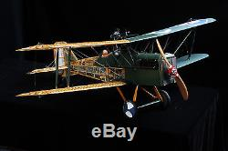 Hasegawa Museum Models WWI Sopwith Camel and SE5. Not kits actual built models