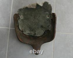 Helm Gaede Stahlkappe 1wk helmet casque stirnpanzer brow plate ww1