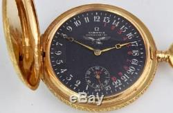 Historic WWI Omega German Luftstreitkräfte pilot's 24h Dial Gold&Diamonds watch