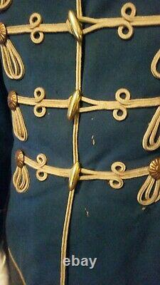Imperial German Hussar Attila tunic uniform jacket pre -ww1 Cavalry Named