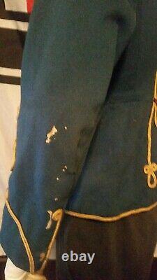 Imperial German Hussar Attila tunic uniform jacket pre -ww1 Cavalry Named