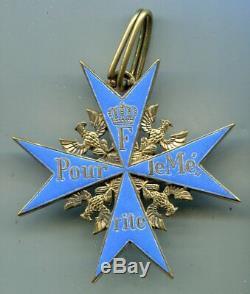 Imperial German World War I Pour Le Merite Blue Max Decoration