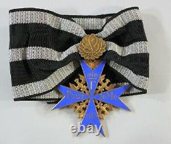 Imperial German World War I Pour Le Merite Blue Max Decoration with Oak Leaf