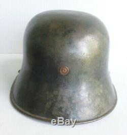 Irish M27'Vickers' helmet (German WWI Stahlhelm influenced) NICE display piece