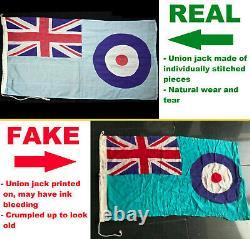Is Your Flag Fake or Original Imperial German, WW1 British, WW2 Italian, RAF