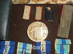 Japanese Medals insignia lot. WW1-WW2