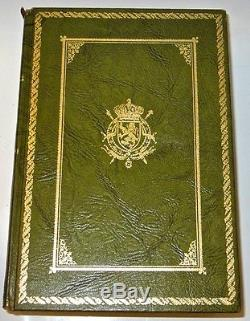 Leather Set WWI History WORLD WAR ONE! First 1st Library America Antique Great