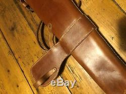 Light horse 303 leather bucket (reproduction), cavalry saddle