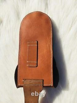 Light horse WWI Leather saddle wallets (reproduction)