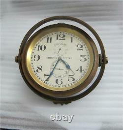 Longines Marine Chronometer 21 Jewels 8 Adjustments 50 Hour Working 1912