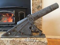 Lyle Line Throwing Cannon Original CC Galbraith & Son 1920s
