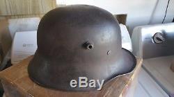 M18 Freikorps Grenzshutz Ost Rossbach steel helmet stahlhelm WW1 German helmet