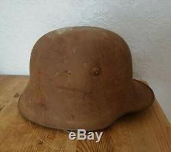 M. 17 German Steel Helmet Post Back WW1