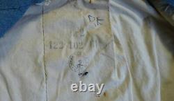 Manteau de cavalerie bleu horizon, boutons argentés d'époque WW1. Poilu