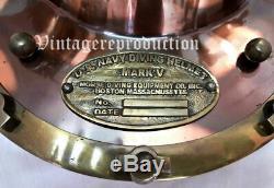 Marine 18 Navy Mark V Helmet Replica Door Knock US Window Antique Diving Helmet