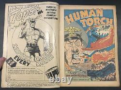 Marvel Mystery Comics #35 Nazi WWI Alex Schomburg Cover (Grade 4.5) 1942